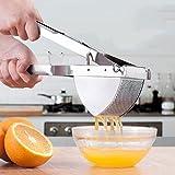 Juicer Edelstahl Handgefertigte Frucht Traube Zitrone Granatapfel Saft Maschine