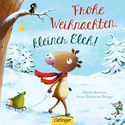 Frohe Weihnachten, kleiner Elch!
