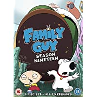 Family Guy Season 19 DVD