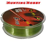 #1: Fishing Monofilament Line,Less Visibility In Water,Dia:0.40mm,Tested:15.3kg/34lb,Approx:100mtr