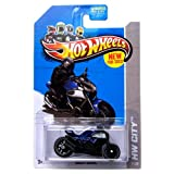 Hot Wheels 2013 Ducati Diavel Blue HW City 9/250