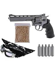 Revolver Perdigón Norica Black Ops. Calibre 4,5mm. Potencia 3 Julios