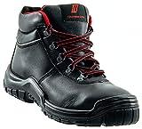 Nitras Arbeitsschuhe Herren S3 Power Step II 7211 - Halbhohe Sicherheitsschuhe Männer mit Zehenschutzkappe HRO SRC Weite 11 Größe 50