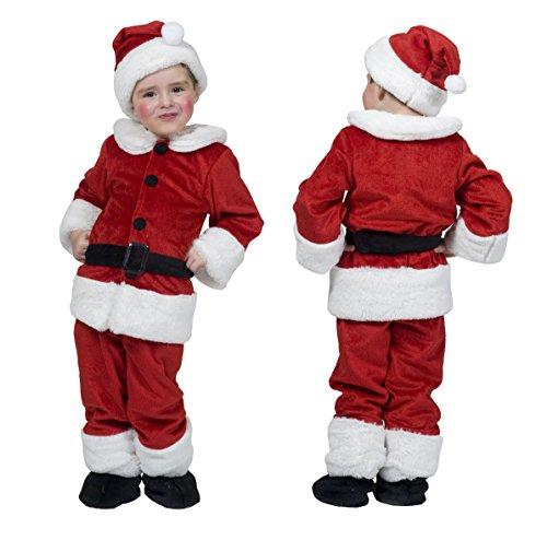 Sport Hüte Funny Kostüm - Weihnachtsmann Kostüm Kinder rot mit vollen Gürtel Hut und Schuh deckt
