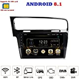 ANDROID 7.1 4G LTE GPS USB Bluetooth autoradio 2 DIN navigatore VW Golf 7