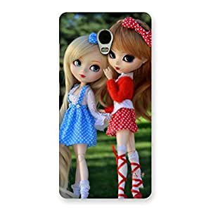 Stylish Sister Doll Multicolor Back Case Cover for Lenovo Vibe P1