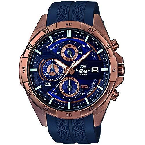 Casio Reloj Cronógrafo para Hombre de Cuarzo con Correa en Plástico EFR-556PC-2AVUEF