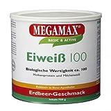 MegaMax Eiweiß 100 Erdbeer, 750 g