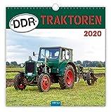 """Technikkalender """"DDR-Traktoren"""" 2020: 30 x 30 cm, mit Bildern von Ralf-Christian Kunkel"""