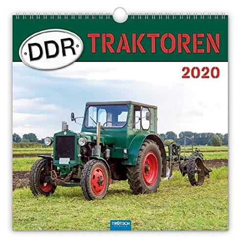 """Technikkalender """"DDR-Traktoren"""" 2020: 30 x 30 cm, mit Bildern von Udo Paulitz"""