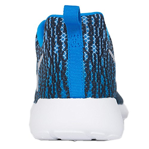 Nike Roshe One (Gs), Chaussures Multisport Indoor mixte enfant PHOTO BLUE/WOLF GREY-WHITE-BLK