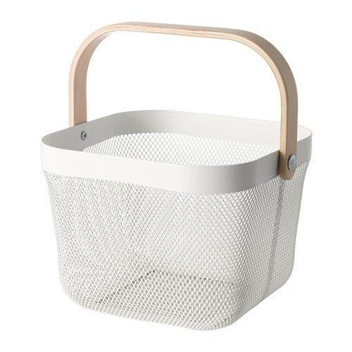 IKEA RISATORP cesta en colour blanco