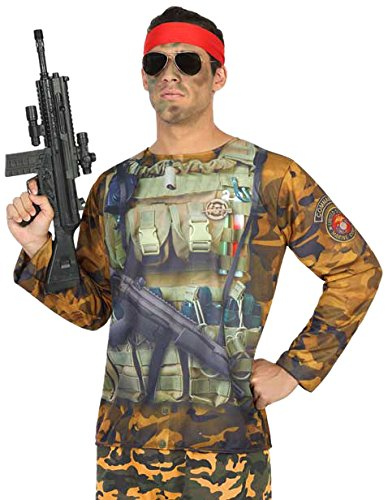 ATOSA 29767 Soldat 3D T-Shirt ()