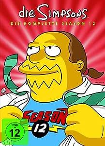 Die Simpsons - Die komplette Season 12  [Collector's Edition] [4 DVDs]