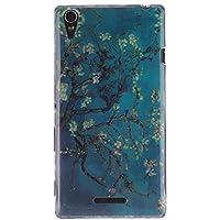 MOONCASE Xperia T3 Case Funda De Silicona TPU Gel Tapa Case Cover para Sony Xperia T3 -TX05