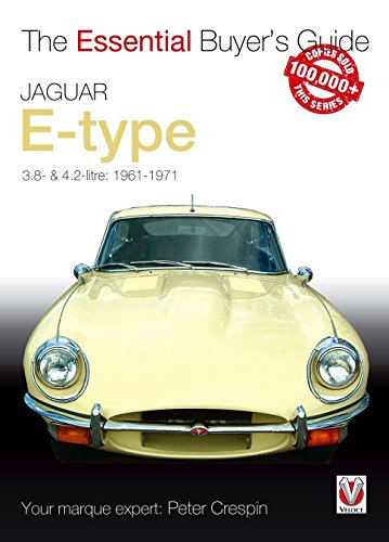 Jaguar E-type 3.8 and 4.2 Litre (Essential Buyer's Guide) (Essential Buyer's Guide Series) by Peter Crespin (18-May-2006) Paperback