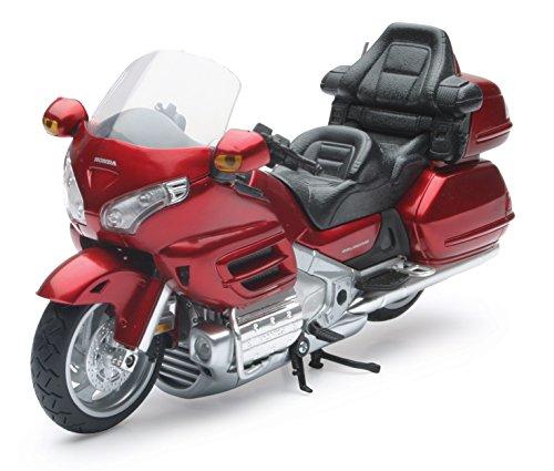 New Ray 57253 Moto Honda Goldwing , Vehículo Listo, Modelo A Escala 1/12, Colores Surtidos