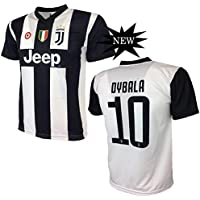 F.C. JUVENTUS Juventus F.C. Sweater Dybala 10 Juventus Réplique Produit Officiel 2018/19 Enfant autorisé JJFC (Tailles 2 4 6 8 10 12) Adulte (S M L XL)