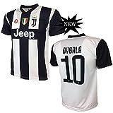 Juventus F.C. MAGLIA DYBALA 10 JUVENTUS replica prodotto ufficiale 2018/19 autorizzato JJFC bambino (taglie 2 4 6 8 10 12) adulto (S M L XL) (10 ANNI)