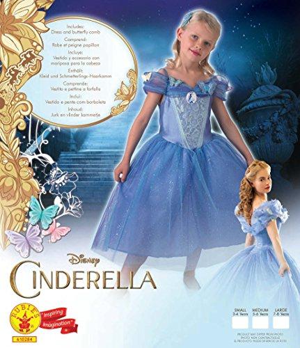 Imagen de rubie's  disfraz para niña, diseño cenicienta de disney, talla l 3610284  alternativa