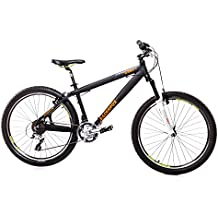 '26pulgadas aluminio Leader Fox Dirt bicicleta Bike Shimano 21velocidades RST 100mm Negro