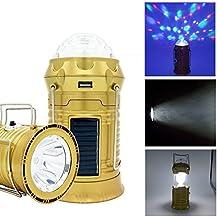 Handkurbel im Freien aufladbare Camping Zelt Laterne Licht LED Lampe Solar
