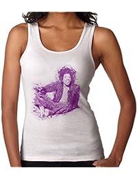 POD66 Jimi Hendrix Relaxing In Mayfair 1969 Womens Vest
