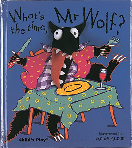 What's the Time, Mr Wolf? (Finger Puppet Books)