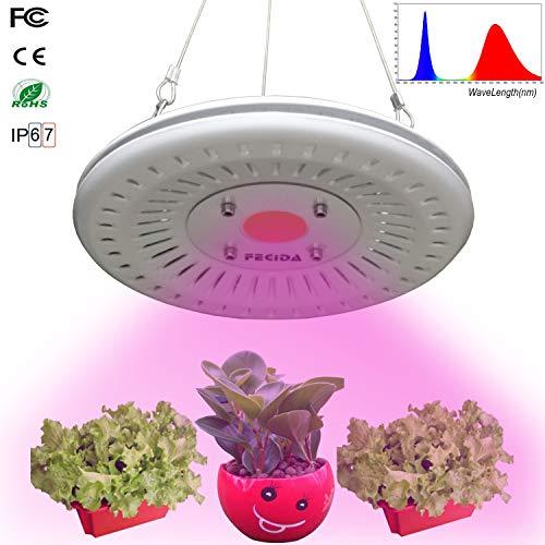 Bester Led Wachstumslampe Lichter Wasserdicht, 50W UFO