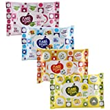 #10: Cari Care wet wipes Pack of 4(1 Lemon,1 musk,1Cologne,1Alovera)