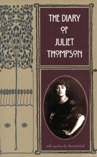 The Diary of Juliet Thompson por Juliet Thompson