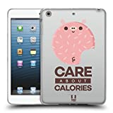 Head Case Designs About Calories Kawaiitiere Donuts Soft Gel Hülle für Apple iPad Mini 1/2 / 3