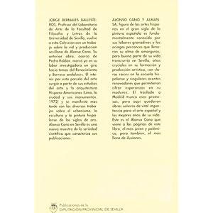 Alonso Cano en Sevilla (Arte Hispalense)