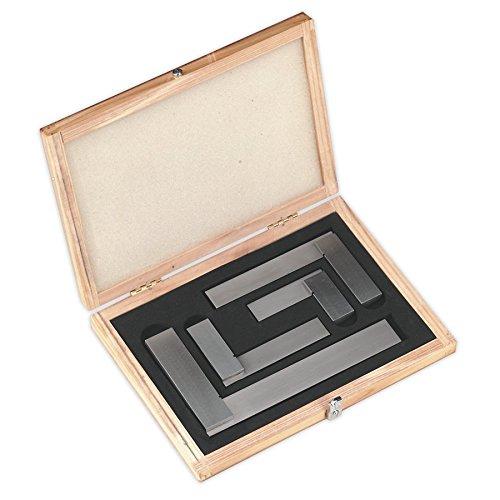 Precision Steel Square Set - SEALEY ak11000Precision Steel Square