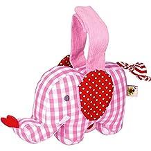 Spiegelburg 13959 Mini-Spieluhr Elefant BabyGlück, rosa
