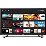 Shinco 80 cm (32 Inches) HD Ready Smart LED TV SO328AS with Uniwall (Black) (2019 Model)
