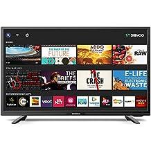 Shinco 80 cm (32 Inches) HD Ready Smart LED TV with Uniwall (Black) (2019 Model)
