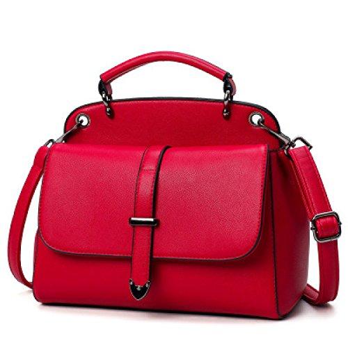 Art Und Weise Wilde Schulter Schräge Querhandtasche Red