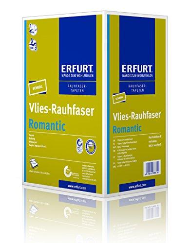 Erfurt Vlies-Rauhfaser - Romantic, 12 Rollen