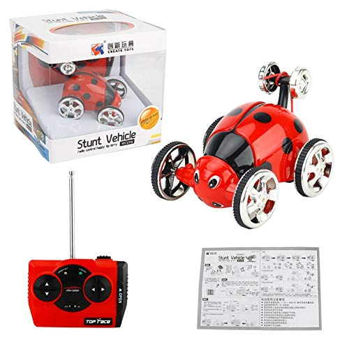 8Eninide Erstellen Sie Spielzeug 2152B Mini Stunt Flip Autoradio RC Auto 360 Rotation Rot (Flip-autoradio)