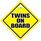 Twins On Board Car Sign, Twins On Board Sign, Twins On Board, Baby on board, Baby On Board Car Sign, Twins Car Sign, Baby on Board Signs, Traditional Twins On Board Sign, Unisex Twins Car Sign, Twins Sign, Baby Sign, Baby Car Sign, Bumper Sticker, Decal, Unisex Baby on Board, Maternity, Pregnacy
