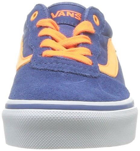 Vans Y Milton, Baskets mode garçon Bleu (Neonpop/Stvn)
