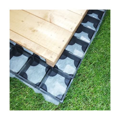 51cs6Ib3xPL. SS500  - GARDEN SHED BASE 7ft x 5ft SYSTEM- 15 PROBASE GRIDS (Plastic)