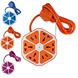 #8: Hexagon Socket Extension board with 4 USB 2.0Amp charging point