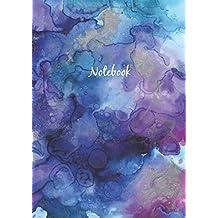 Libreta De Puntos: A4 Cuaderno Dot Grid Para Bullet Journaling, Lettering, Art Notes | Journal De Punteados | 110 Páginas Con Cuadrícula De Punto | Soft Cover Acuarela