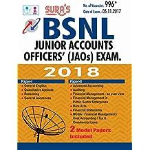 BSNL Junior Accounts Officers' (JAOs) Exam
