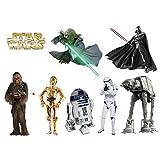 Stickers enfant planche de stickers Star wars - 30x20cm