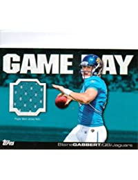 Topps Football 2011 NFL Trading Cards Game Day Relic Jersey Card Blaine Gabbert