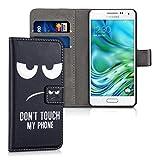 kwmobile Hülle für Samsung Galaxy Alpha - Wallet Case