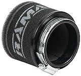 ramair Filter mr-012Motorrad Pod Air Filter, Schwarz, 65mm
